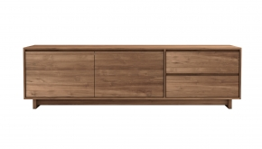 Teak Wave TV Meubel 210x46x60cm