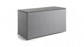 Wicker Kussenbox Milano Dark Grey