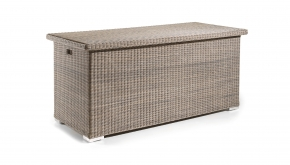Wicker Kussenbox Sacramento Kubu Brushed