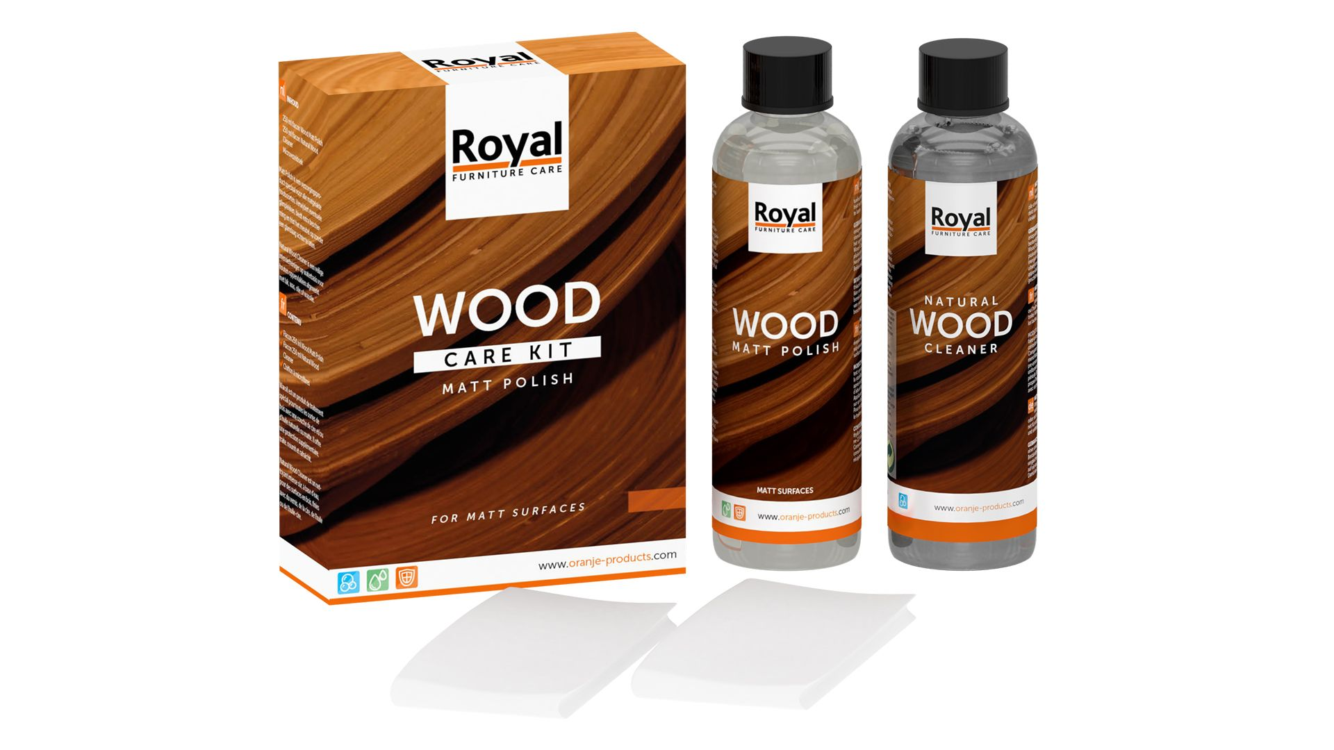 Wood Care Kit Mat Polish