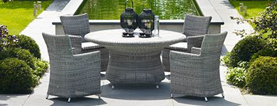 Wicker Tuintafels