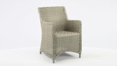 Luxury Lounge Wickerzetel Boston Light Koboo Grey