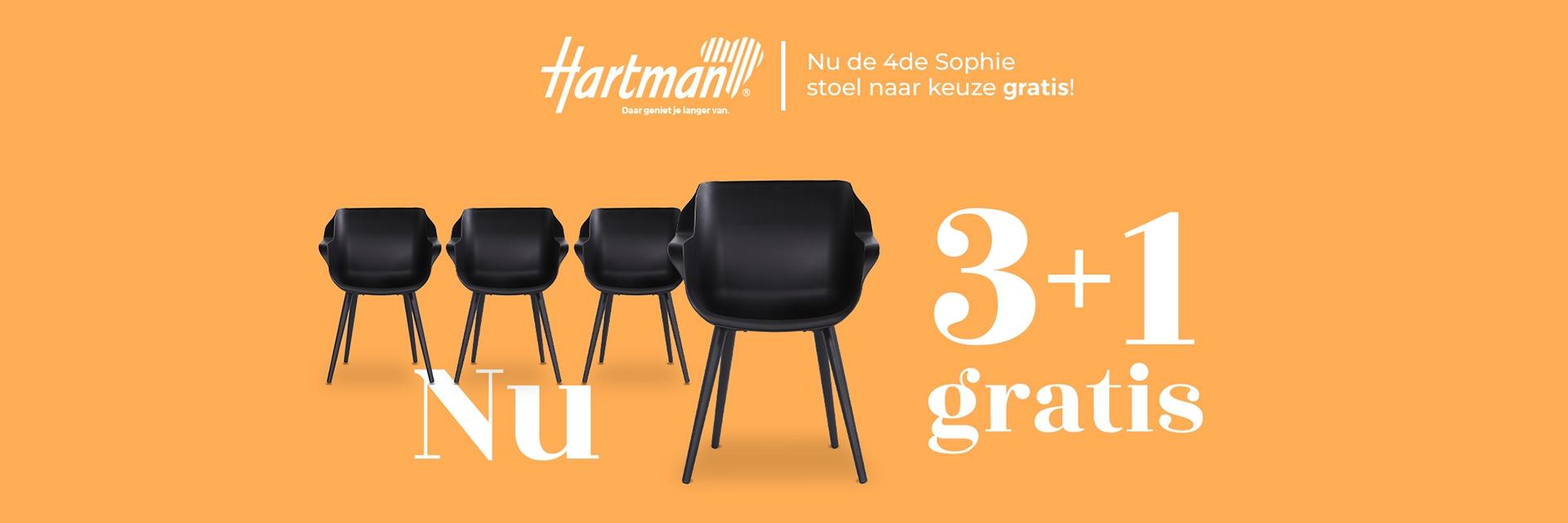 Hartman 3+1 Actie
