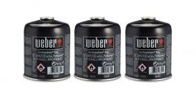 Weber Driepak Gasbusjes