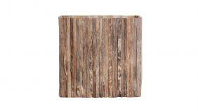 Teakline Collection Teak Bloempot Natural Rustic 90x25cm