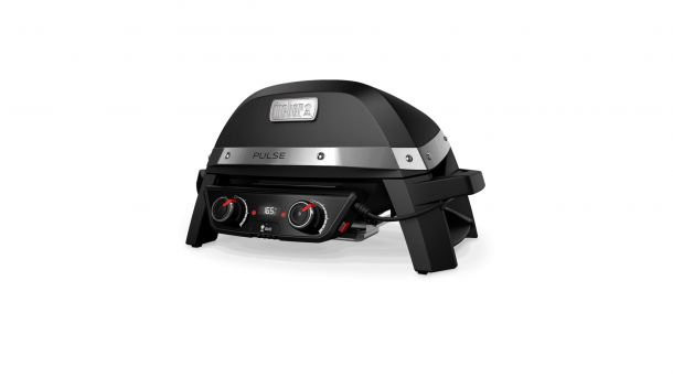 Weber Pulse 2000 Elektrische Barbecue links