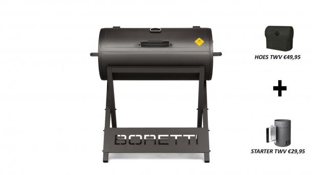 Boretti Barilo Houtskoolbarbecue