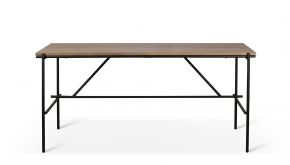 Teak Oscar Desk 140x70x76cm