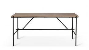 Teak Oscar Desk 200x90x76cm