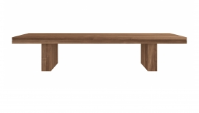 Teak Double Bank 220x40x45cm