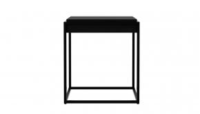 Eik Black Monolit Bijzettafel 47x47x51cm