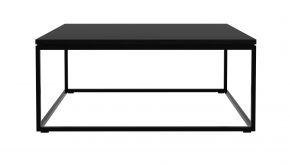 Eik Black Thin Koffietafel 70x70x30cm