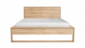 Eik Nordic II Bed 204x239x95cm