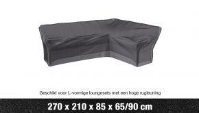 AeroCover Loungesethoes Hoekset Hoge Rug L-vorm Links 270x210x90cm