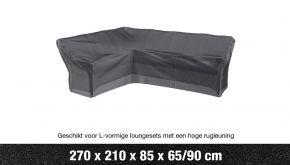 AeroCover Loungesethoes Hoekset Hoge Rug L-vorm Rechts 210x270x90cm