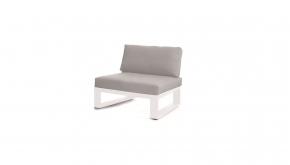 Azur Alu - Teak Loungeset Torino Element White