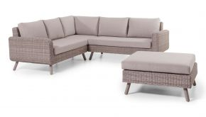 Wicker Loungeset Adria Cappuchino 240x240cm