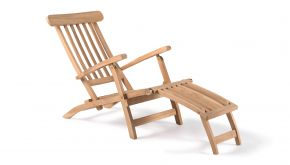 Azur Teak Ligbed Deckchair Belfast