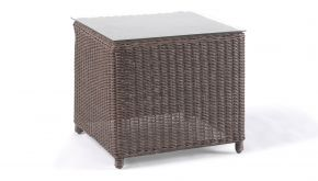 Wicker Bijzettafel Firenze Natural Brushed