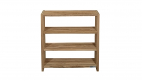 Teakline Collection Teak Badkamer Rek Stripes 80x35x80cm