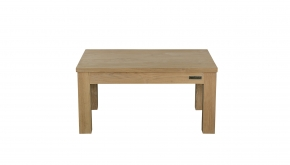 Diamond Collection Teak Salontafel Enkele Top P8 100x80x45cm