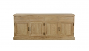 Diamond Collection Teak Dressoir Classic 220x50x90cm