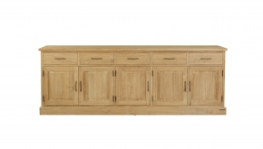 Diamond Collection Teak Dressoir Classic 250x50x90cm