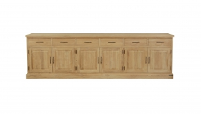 Diamond Collection Teak Dressoir Classic 300x50x90cm