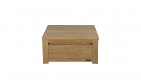 Diamond Collection Teak Salontafel Vierkant 80x80x40cm