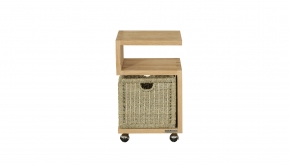 Diamond Collection Teak Roll-it SOLIDwood S-Design 40x35x65cm