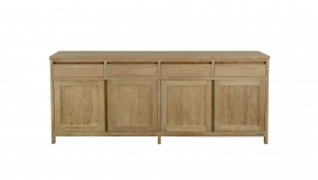 Diamond Collection Teak Dressoir Comfort 220x50x90cm