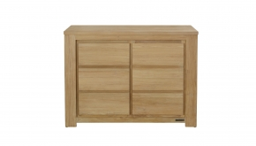 Diamond Collection Teak Dressoir Loft 120x50x90cm